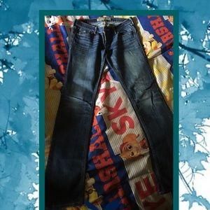 Skinny blue jeans American Eagle